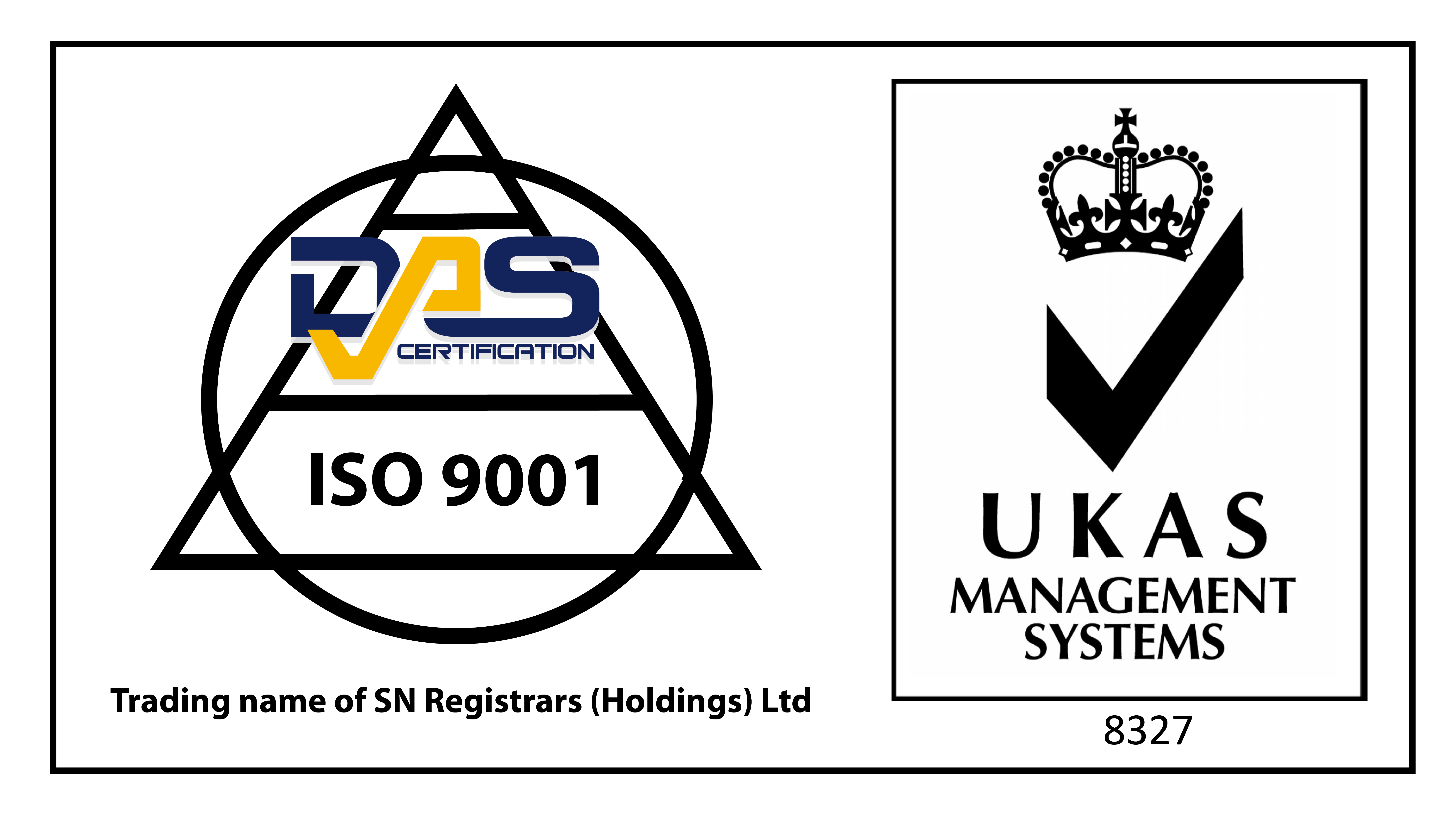 Amita ISO 9001 accreditation